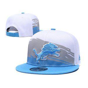 Detroit Lions Snapback Hat Adjustable Baseball Cap